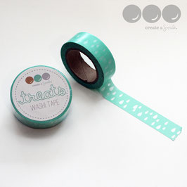 Washi Tape Mint Drops