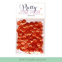 Pretty Pink Posh Pumpkin 6mm