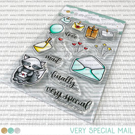 Clear A6 Very Special Mail