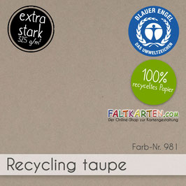Cardstock Recycling Taupe 325g/m²