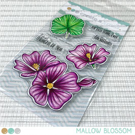 Clear A6 Mallow Blossoms