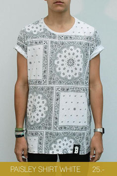 PAISLEY SHIRT WHITE