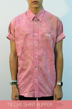 Tie Dye Shirt Kupfer