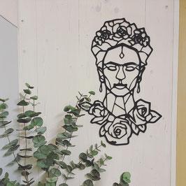 Bild Frida Kahlo XXL schwarz