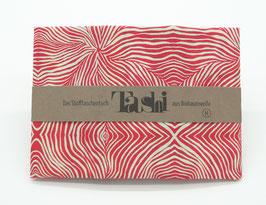Tashi- bewegte Streifen rot/weiß