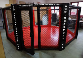 Gabbia MMA base terra- Certificata