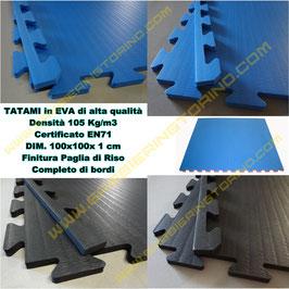 TATAMI ad incastro in EVA mod. MULTISPORT spess. 1 cm