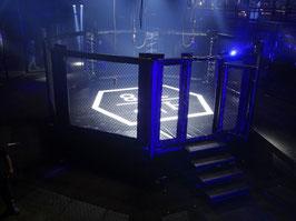 Gabbia MMA rialzata - Certificata