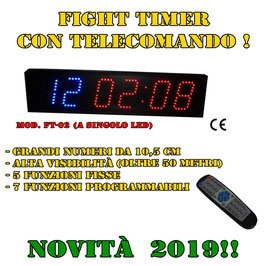 FIGHT TIMER _ Multifunzione con telecomando