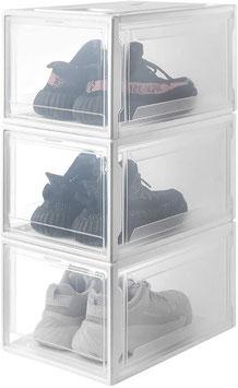 SYSI-Schuhbox weiß/transparent