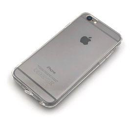 Softcase transparent mit Staubschutz passend für iPhone 6/6S (C1)