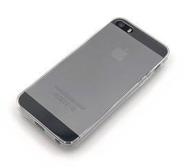 Softcase ultra-slim transparent passend für iPhone 5/5S/SE (A1)