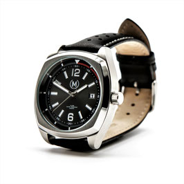 Montre CLASSIC DRIVER black and silver
