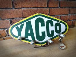 Accroche clés 4 bougies Logo YACCO