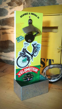 Décapsuleur mural Vélomoteur vintage Solex