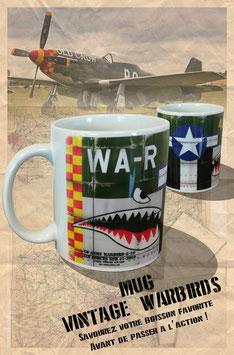 Mug vintage warbirds, aviation ww2