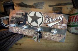 Accroche clés mural jeep willys WW2 par déco bolides uniquement sur COMMANDE.