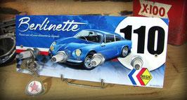Accroche clés mural Alpine Renault A 110 Berlinette