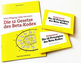 Beta-Kodex-Postkartensets und -Broschüren (10er-Pack)