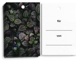 """Geschenkanhänger """"Blätter"""""""