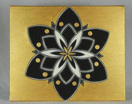 Fleur Alchimique soleil d'or 20