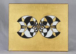 Fleur Alchimique soleil d'or 3