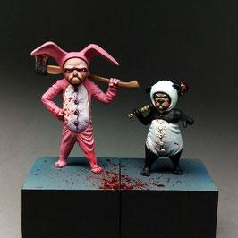Pugsy Malone & Grumpy Bunny Team