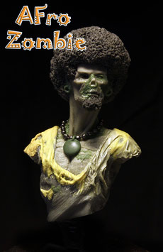 Afro Zombie 1/10 scale