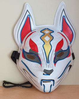 LED Fuchsmaske blau