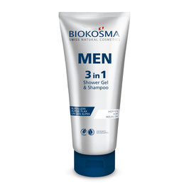 BIOKOSMA MEN 3in1 Shower Gel, Shampoo & Face Wash - pcode 6837319