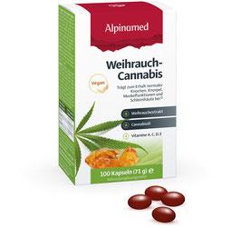 ALPINAMED Weihrauch-Cannabis Kapseln, 100 Kapseln - pcode 7798456