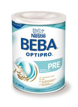 BEBA Optipro PRE ab Geburt Ds 800 g - pcode 7759325