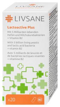LIVSANE Lactoactive Plus - pcode 7226411