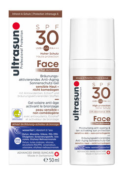 Ultrasun Face Tan Activator SPF30 50 ml - pcode 6871606