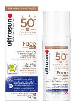 Ultrasun Anti-Age SPF50+ Tinted HONEY 50 ml - pcode 6527263