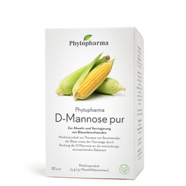 Phytopharma D-Mannose pur Pulver, 75 g - pcode 6538947