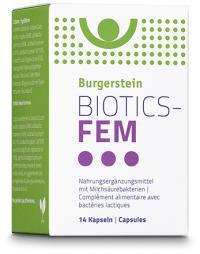 Burgerstein BIOTICS-FEM, 14 Kapseln - pcode 6855961