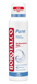 Borotalco Deo Spray Pure Natural Freshness, 150ml - pcode: 6824191