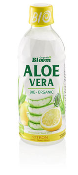 Organic Bloom Aloe Vera Zitrone, Bio, PET 6 x 350ml - pcode 7084833