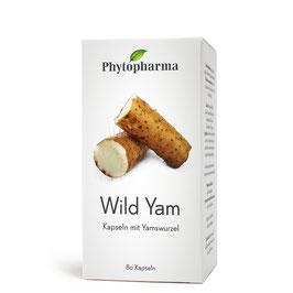 Phytopharma Wild Yam Kapseln, 80 - pcode 6982903