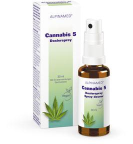 ALPINAMED Cannabis 5 Dosierspray, 10 ml / 30 ml