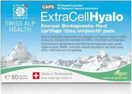 ExtraCellHyalo - Gelenk - Bindegewebe – Haut - 60 Kapsel - pcode: 7343631