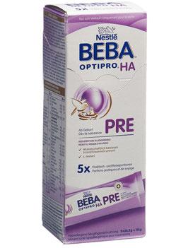 BEBA Optipro PRE HA Trinkfertig ab Geburt bis 6 Monate 5 x 26.2 g - pcode 7212171