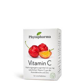 Phytopharma Vitamin C Lutschtabletten, 60 Stück pcode 7759790