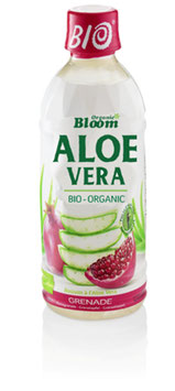 Organic Bloom Aloe Vera Granatapfel, Bio, PET 6 x 350ml - pcode 7084810