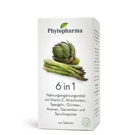 Phytopharma 6 in 1 Tabletten 120 Stk. - pcode 2949895