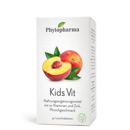 Phytopharma Kids Vit, 50 Lutschtabletten, Tropic Aroma - pcode 6594874