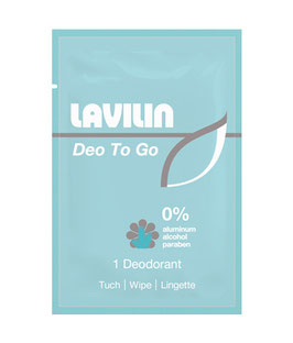 Lavilin Deo Wipes, Box 10 Stk. - pcode: 6987102