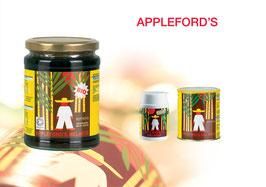 Appleford's rohe schwarze Zuckerrohr-Melasse
