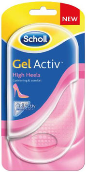 Scholl GelActiv Einlegesohle High Heels, 1 Paar